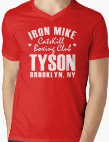 Iron Mike Tyson Catskill Boxing Club Mens V-Neck T-Shirt