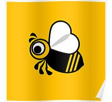 Bee graphic Poster