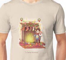 Take the Floo To Santa's Workshop! Unisex T-Shirt