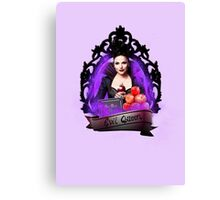 The Evil Queen- Once Upon A Time Canvas Print