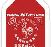 Sriracha Hot Sauce Sticker