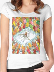 Dance Gavin Dance Women's Fitted Scoop T-Shirt