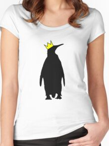 King Penguin Women's Fitted Scoop T-Shirt