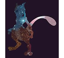 Galaxy Mewtwo Photographic Print