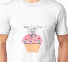 Cute Cupcake Drone Unisex T-Shirt