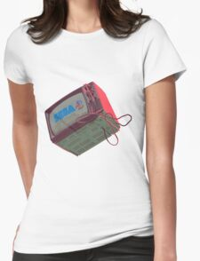 RETRO CRT - SEGA Sonic Womens Fitted T-Shirt