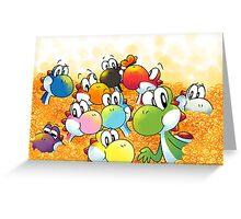 Lots of Yoshi  Greeting Card