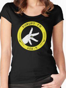 Kurupt Fm Throw Up Your K's Women's Fitted Scoop T-Shirt