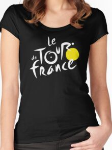 Le De Tour France NEW Women's Fitted Scoop T-Shirt