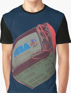 RETRO CRT - SEGA Sonic Graphic T-Shirt