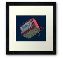RETRO CRT - SEGA Sonic Framed Print