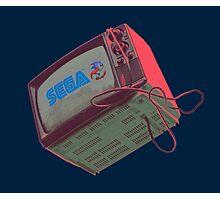 RETRO CRT - SEGA Sonic Photographic Print