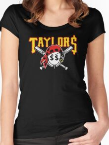 Taylor Gang Taylors Logo Women's Fitted Scoop T-Shirt