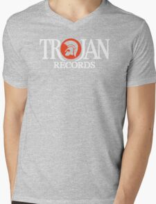 Trojan Records Label Mens V-Neck T-Shirt