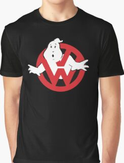 VW Volkswagen Ghostbusters Graphic T-Shirt