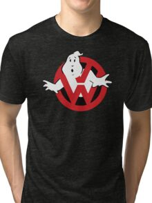 VW Volkswagen Ghostbusters Tri-blend T-Shirt