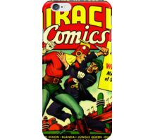RETRO Golden Age Comic Book Cover Miracle Comics iPhone Case/Skin