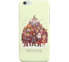 The loudest carollers in Middle Earth iPhone Case/Skin