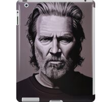 Jeff Bridges Painting iPad Case/Skin