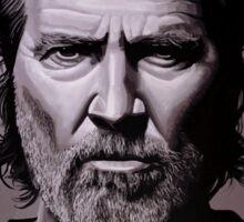 Jeff Bridges Painting Sticker