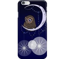 Mid Century Modern Night Owl iPhone Case/Skin
