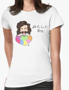 Harry and All the Love Womens Fitted T-Shirt