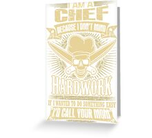 Chef T-shirt , Chef (male), Chef (female), Chef, chef jacket, Chef's Hat, chef, chefs, chef skull, chef dad, Greeting Card
