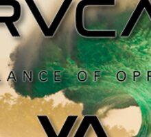 "RVCA ""balance of opposites""  Sticker"