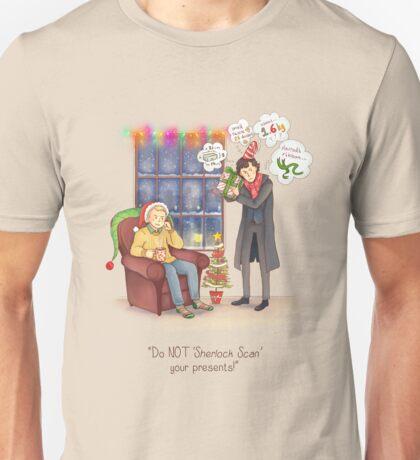 Sherlock's Santa Scan Unisex T-Shirt