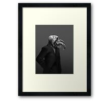 Ready for the interview Framed Print