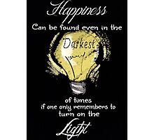 Dumbledore Quote Photographic Print