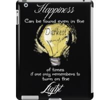 Dumbledore Quote iPad Case/Skin