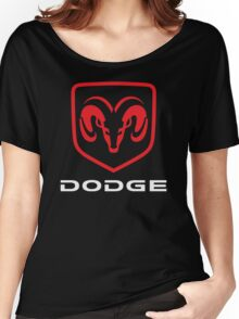 Dodge Ram Viper Challenger Charger Classic Logo Women's Relaxed Fit T-Shirt
