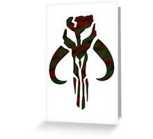 Mandalorian Greeting Card