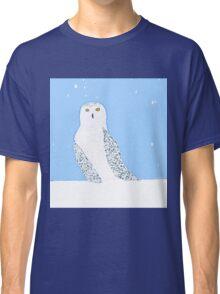 Snowy Snowy Owl Classic T-Shirt