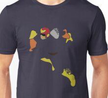 Captain Falcon Pixel Silhouette Unisex T-Shirt