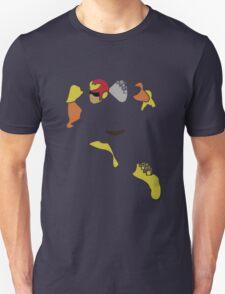 Captain Falcon Pixel Silhouette T-Shirt