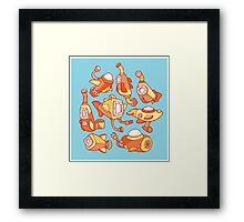 Sunny Submarines Framed Print