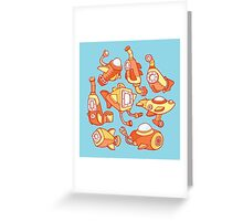 Sunny Submarines Greeting Card