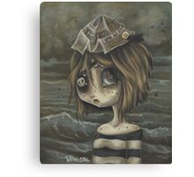 Peppe- pirate girl Canvas Print