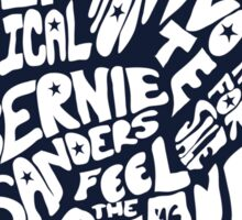 Political Revolution Bernie Sanders Shirt Sticker