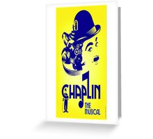 Chaplin The Musical Greeting Card