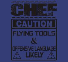 Chef T-shirt , chef, cooking, cook, kitchen, funny, lol,  by tommyendy
