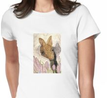 A Snowy March Womens Fitted T-Shirt