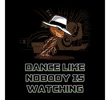 dance like nobody is watching  Photographic Print