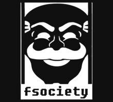 Mr. Robot TV Series Banksy Fsociety Kids Tee