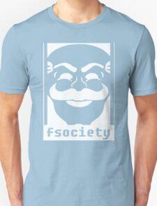 Mr. Robot TV Series Banksy Fsociety Unisex T-Shirt