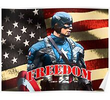 Freedom from Captain Poster