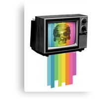 Television Melt Canvas Print