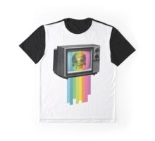 Television Melt Graphic T-Shirt